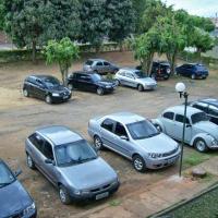 vista p/ estacionamento da sala ID: 3474