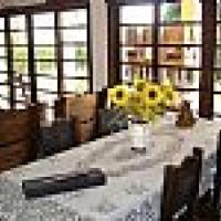 sala de jantar e visita parte de baixo da casa ID: 30371