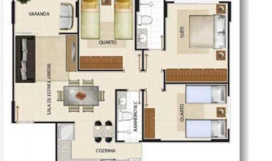 Maximo Flamboyant apartamento no Jardim Goias próximo ao parque  ID: 79256