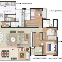 Premier - Planta de 162 m² ID: 30982