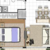 1 Dormitório ID: 37902