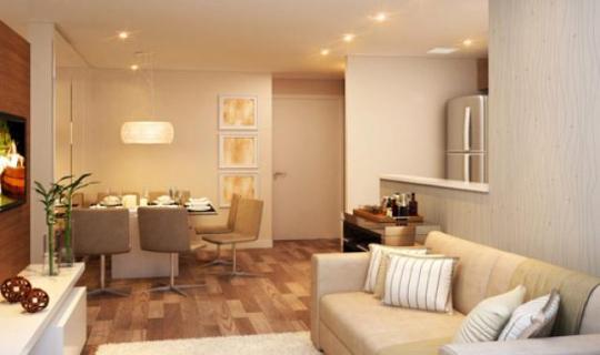 Living do apto. de 45,5 m², ID: 78593