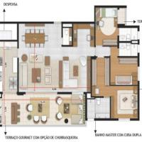 Planta de 198 m² ID: 30983